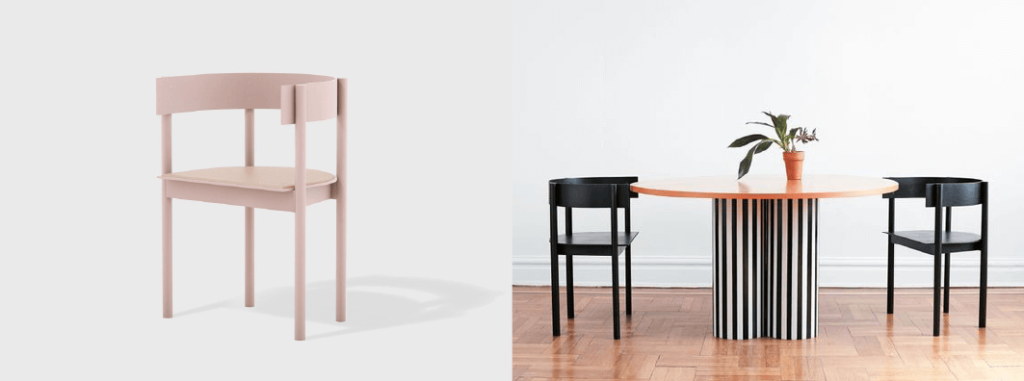blog design chaise typecast matter made