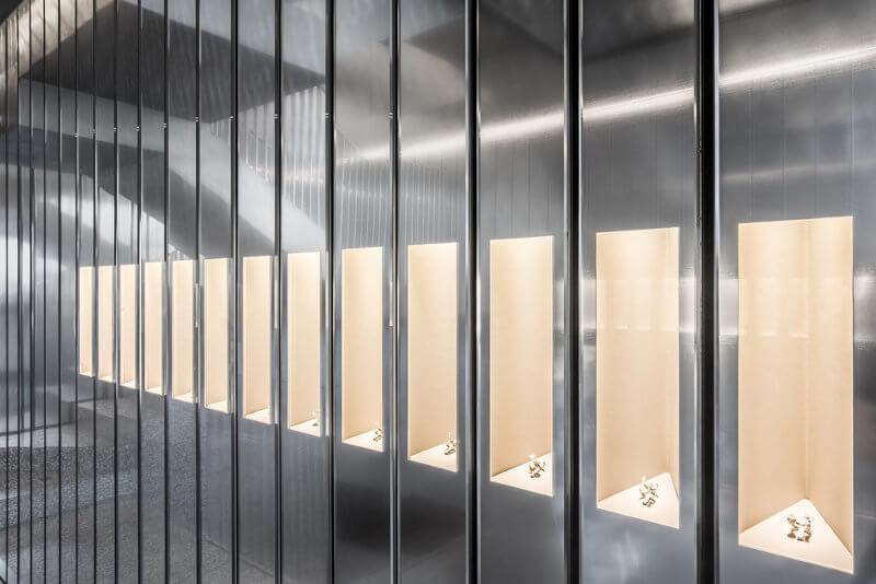 architecture d'intérieur flagship repossi paris oma studio