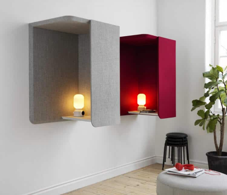 solution acoustique cabine abstracta huskdesignblog