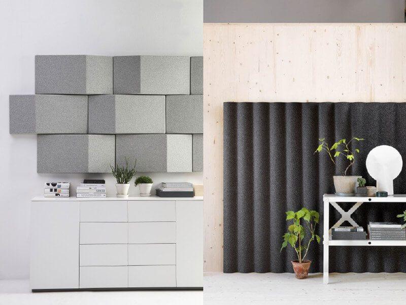 solution acoustique revêtements muraux abstracta huskdesignblog