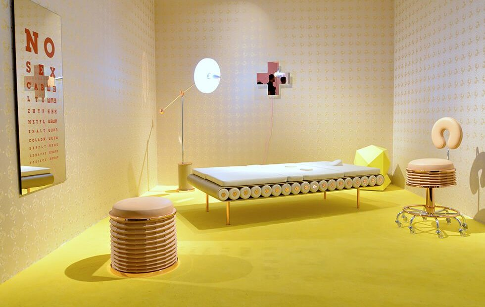 """ATELIER BIAGETTI: """"NO SEX"""", the scenography of design"""