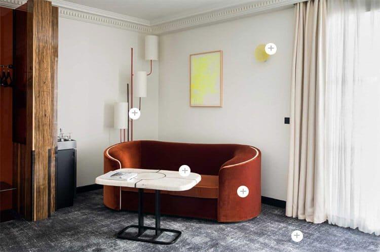 get the look 6 hôtel les bains paris