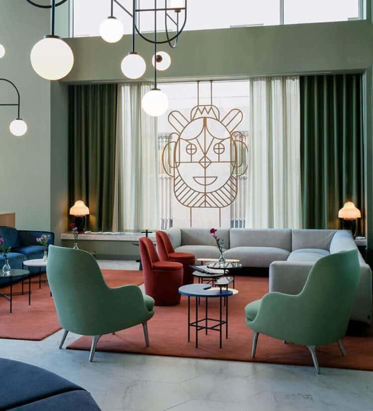 hotel barcelo torre de madrid jaime hayon lobby