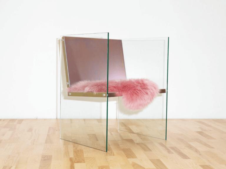 stockholm furniture & light fair 2017 sélection tendance örnsbergsauktionen frederik paulsen glass + steel chair