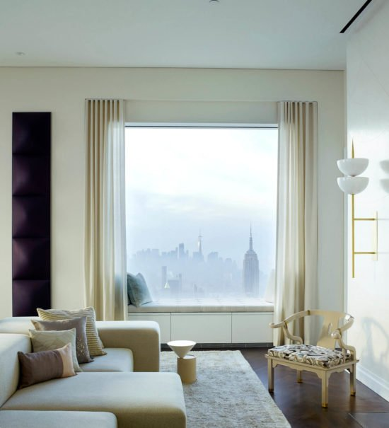 The 432 Park Avenue Penthouse by Kelly Behun, curated by huskdesignblog.com