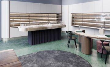 KAZAKHSTAN: Une bijouterie moderne par S&Tarchitects et Lera Brumina