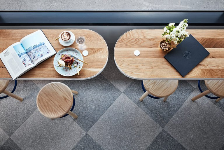 Middletown Café, Australie, Studio Tate