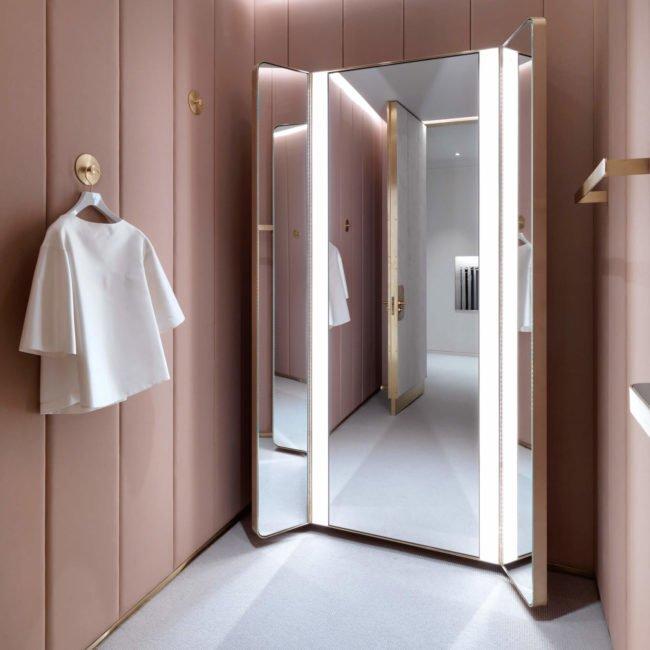 Le rose en retail - J&M Davidson, Universal Design Studio