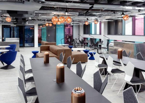 Tom Dixon, Atrium co-working space, London
