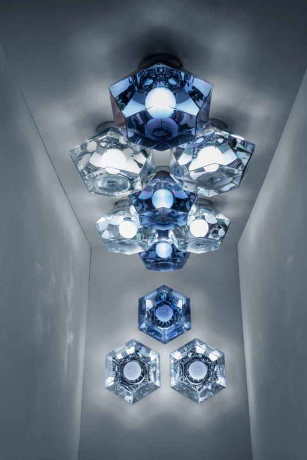 Tom Dixon, cut lighting collection