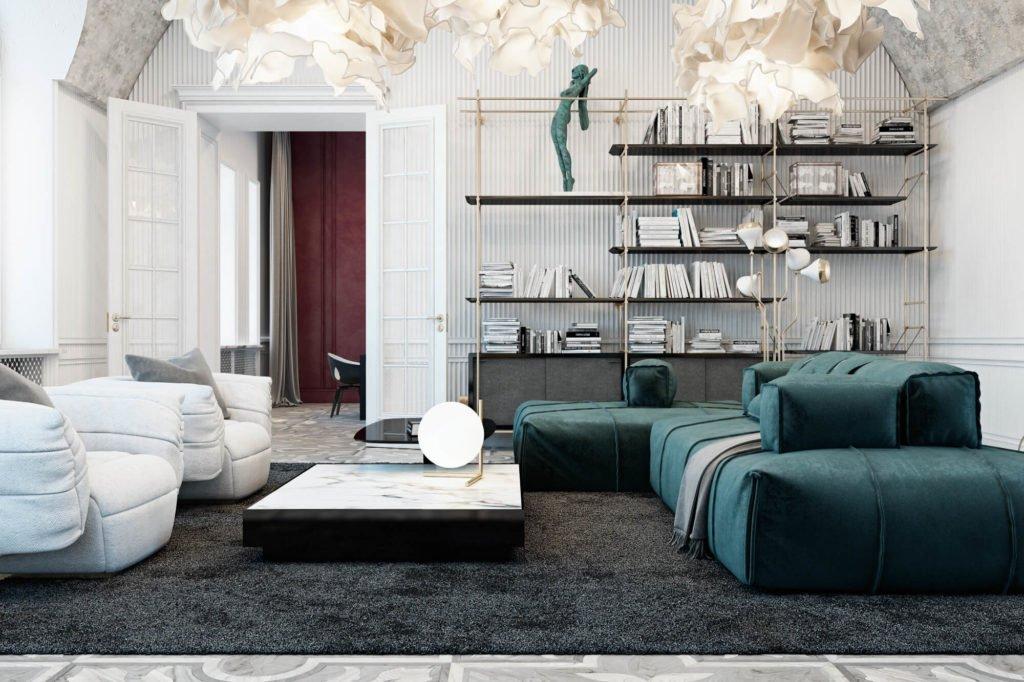 Studio Diff interior design, Italie