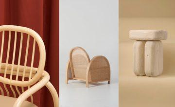 DESIGN: Le bois s'affiche en 3 nouvelles chaises