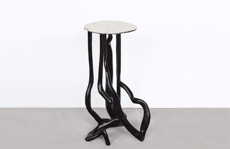DesignMiami/ Basel 2017, galerie FUMI, Blankenau Side table, Lukas Wegwerth
