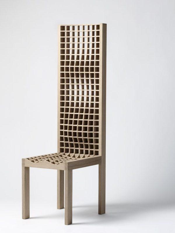 DesignMiami/ Basel 2017, Galerie Maria Wettergren, High Grid chair, Boris Berlin