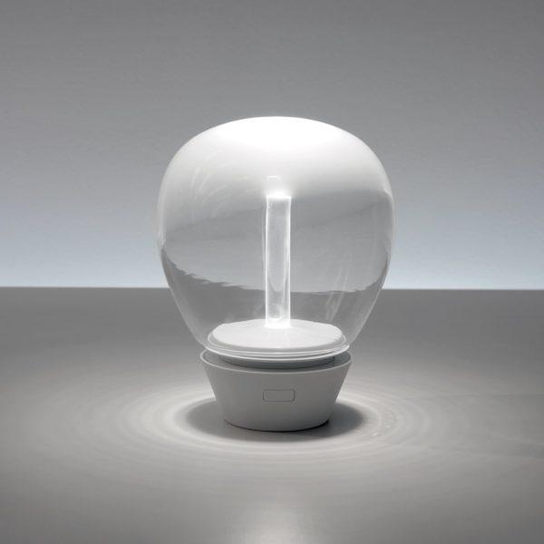 Design, Architecture d'intérieur, Noir et Blanc - Portable lamp, Artemide