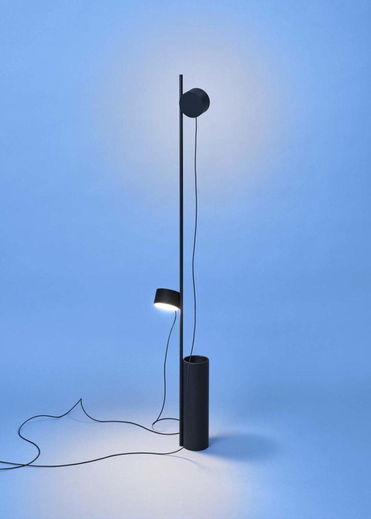 Cinq nouveaux luminaires minimalistes 2017 | Earnest Studio, Post Lamp Family