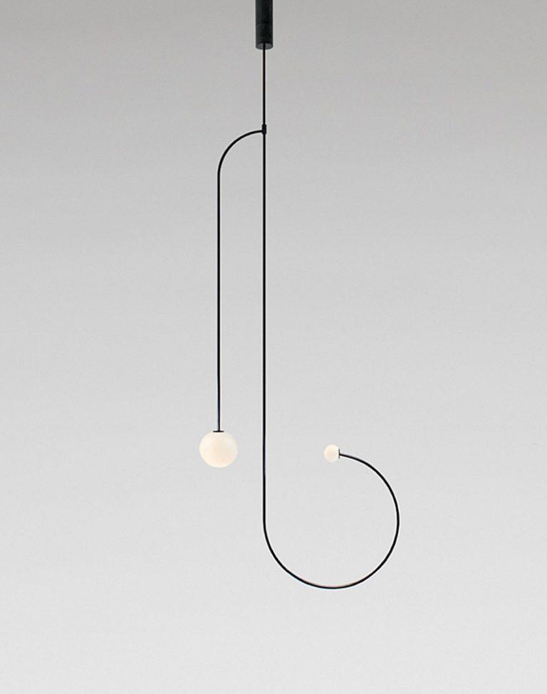 Cinq nouveaux luminaires minimalistes 2017 | Michael Anastassiades, Mobile Chandelier 11