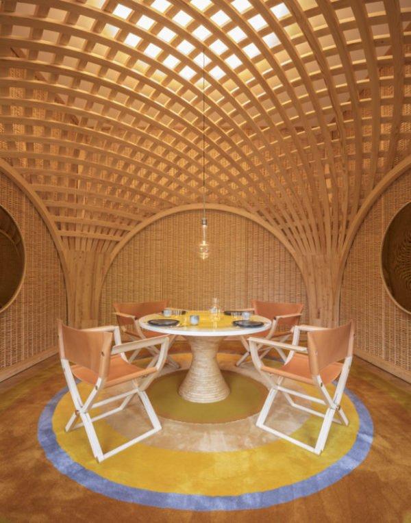 Paris Design Week, AD Intérieurs 2017, Denis Montel pour RDAI, Le Pavillon salle à manger
