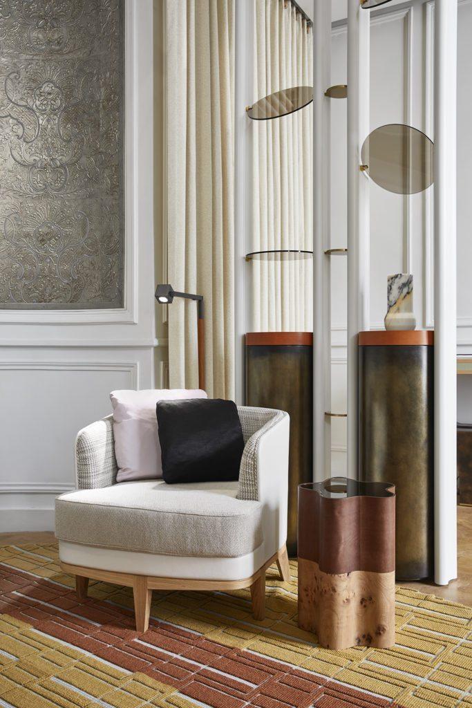Paris Design Week, AD Intérieurs 2017, Elliott Barnes, Le Salon d'un collectionneur de Monnaie