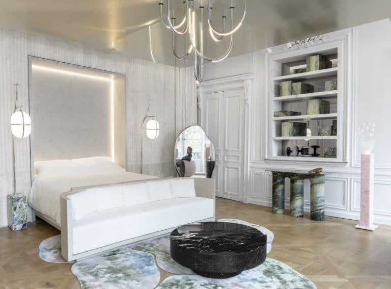 Paris Design Week, AD Intérieurs 2017, Mathieu Lehanneur, La Chambre de Marbre