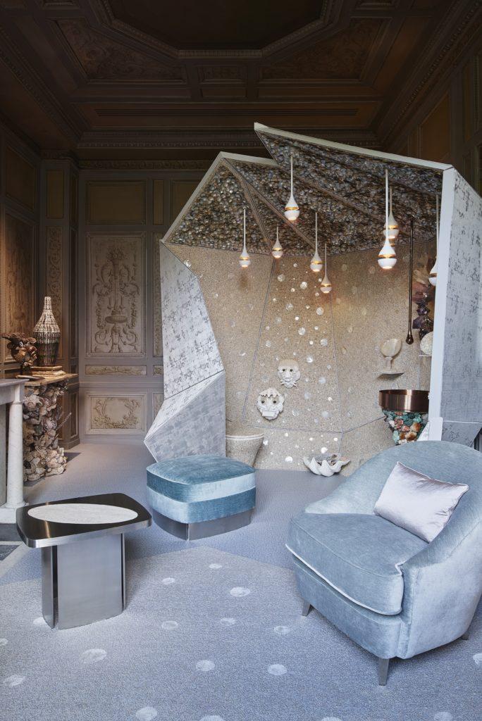 Paris Design Week, AD Intérieurs 2017, Thomas Boog, Le cabinet de rocaille