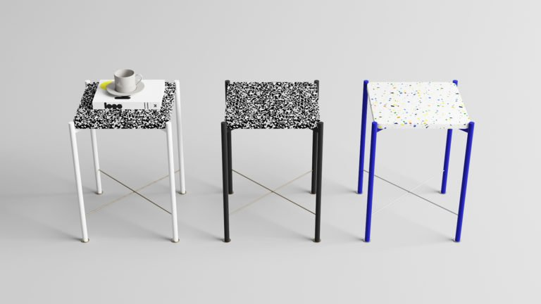 Speckled Side Table, by Yunus Emre Uzun designer