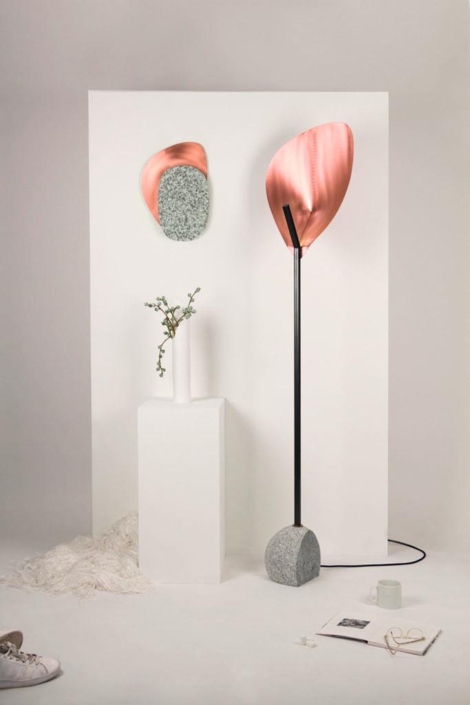 Paris Design Week, Now! Le off, Pauline Androlus et Jeanne Riot, Palm Stone collection