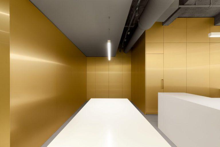 Tendance jaune et or, Jean Verville Architecte
