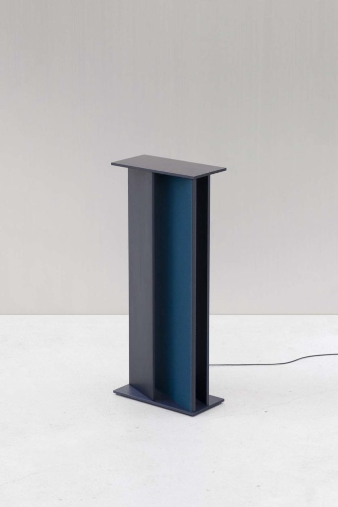 Truly Truly, Column table lamp, Transformation III's exhibition