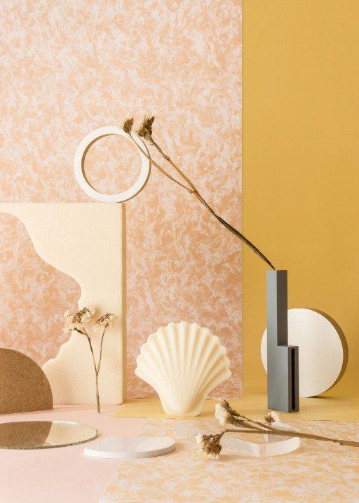 Los Objetos Decorativos, set design