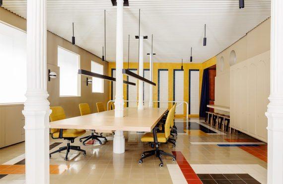 Architecture d'intérieur, Madrid, Casa Josephine, agence M. Hyde