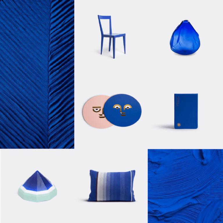 Noël sélection idées cadeaux design WallpaperSTORE - Bleu Klein