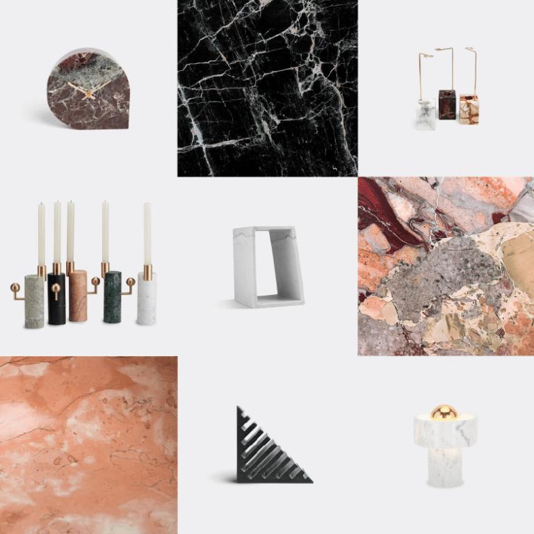 Noël sélection idées cadeaux design WallpaperSTORE - Marbre