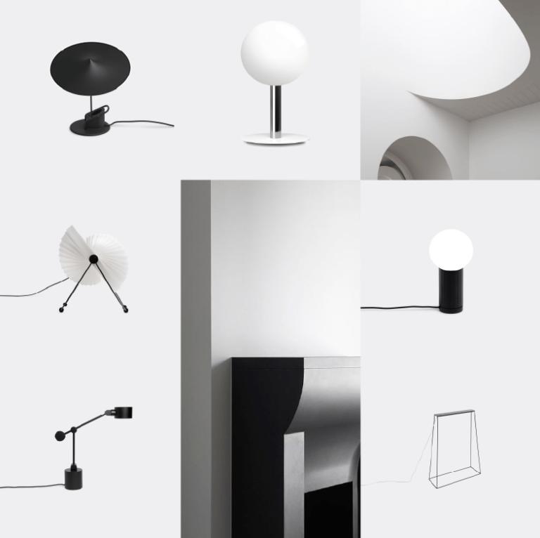 Noël sélection idées cadeaux design WallpaperSTORE - Lampes Minimalistes
