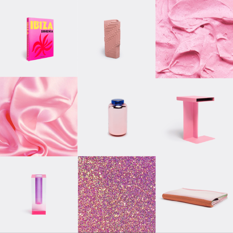 Noël sélection idées cadeaux design WallpaperSTORE - Rose
