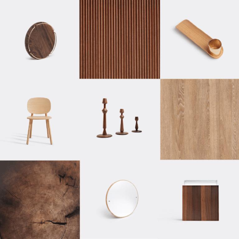 Noël sélection idées cadeaux design WallpaperSTORE - Bois