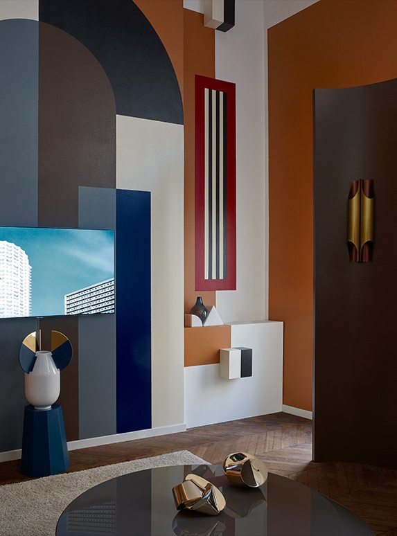 Pool Studio, salon pour AD Magazine, Samsung