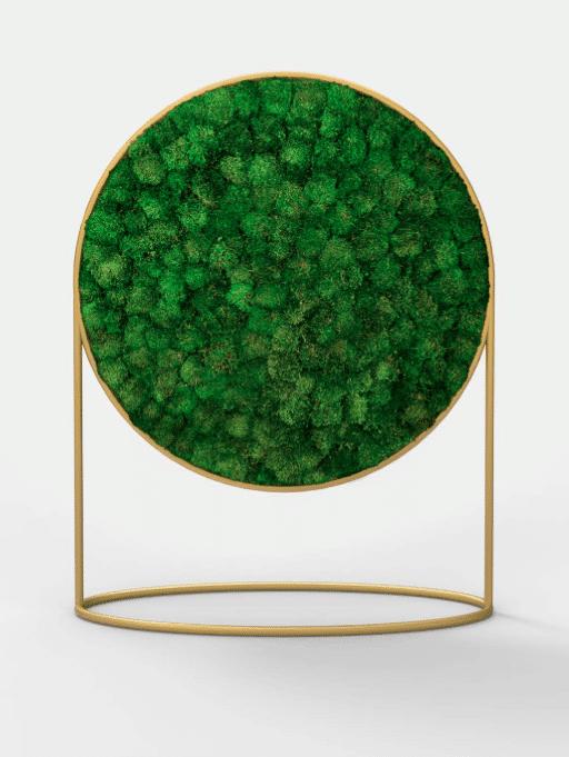 G-LINE lance Green Mood, un nouveau concept de panneaux acoustiques dont la matière absorbante est constituée de végétaux, design par Alain Gilles.