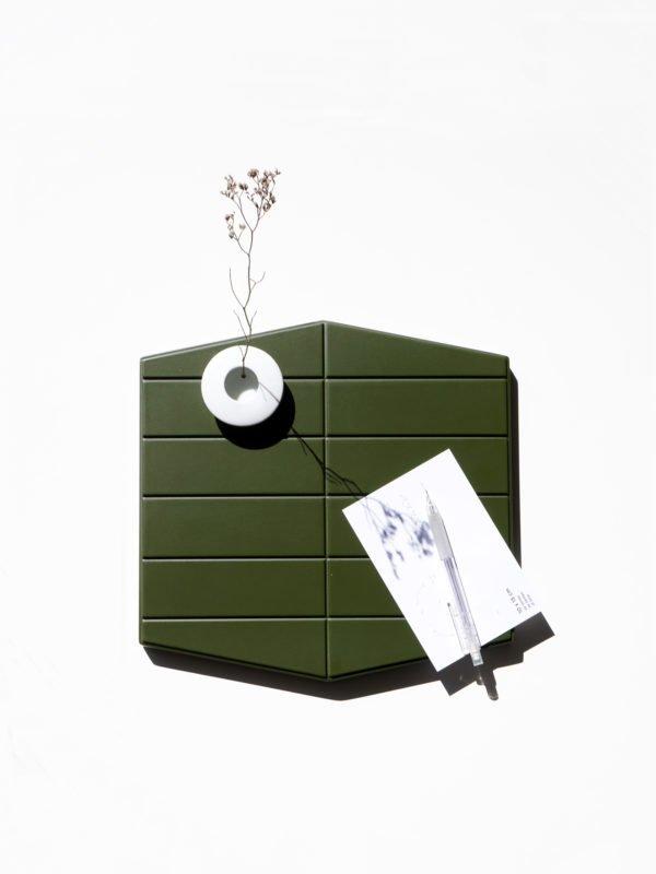Une collection de produits en céramiques contemporains inspirés par l'architecture moderne, design par Murmull.
