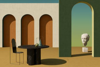 Notoostudio revives the surreal painting of the 20th Century