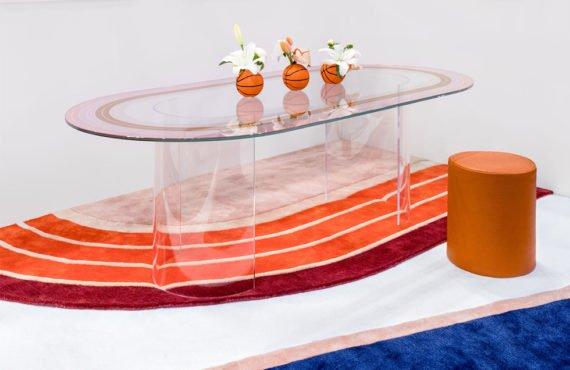 Le studio An Aesthetic Pursuit s'inspire de l'univers sportif afin de créer une collection de mobilier aux codes graphiques forts.