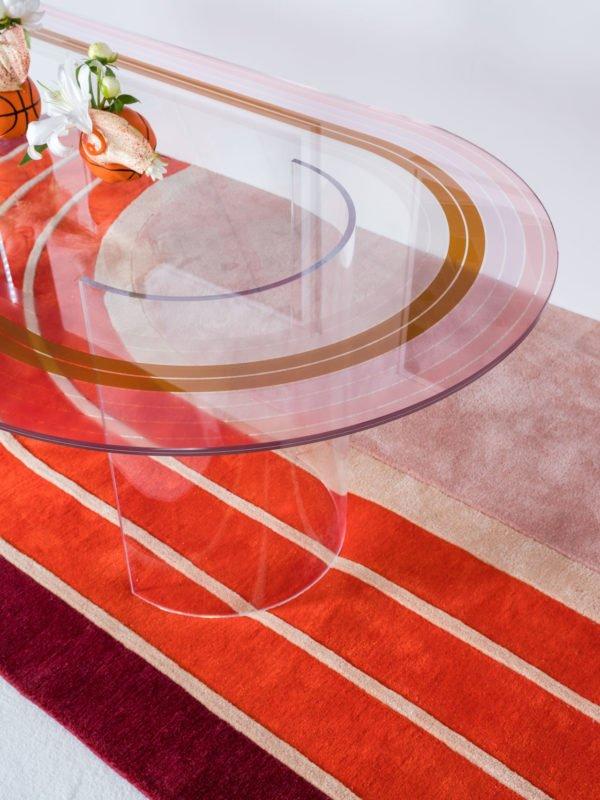 An Aesthetic Pursuit s'inspire de l'univers sportif afin de créer une collection de mobilier aux codes graphiques forts.