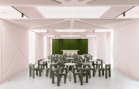 Didier Faustino offers public spaces the opportunity to stand out