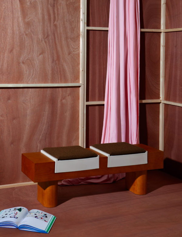 On the occasion of Maison&Objet 2019, French designers HAOS Paris released a wooden ceramic bench.