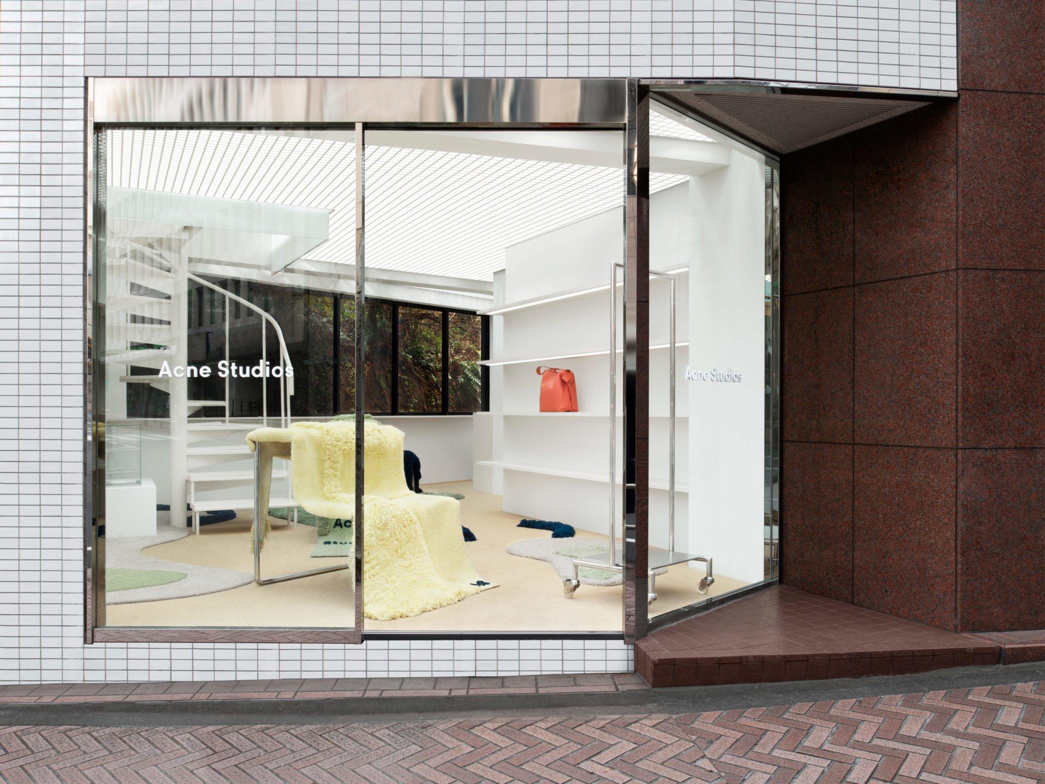 Atelier D Architecture Hervé Vincent acne studios keeps reinventing its shibuya's store