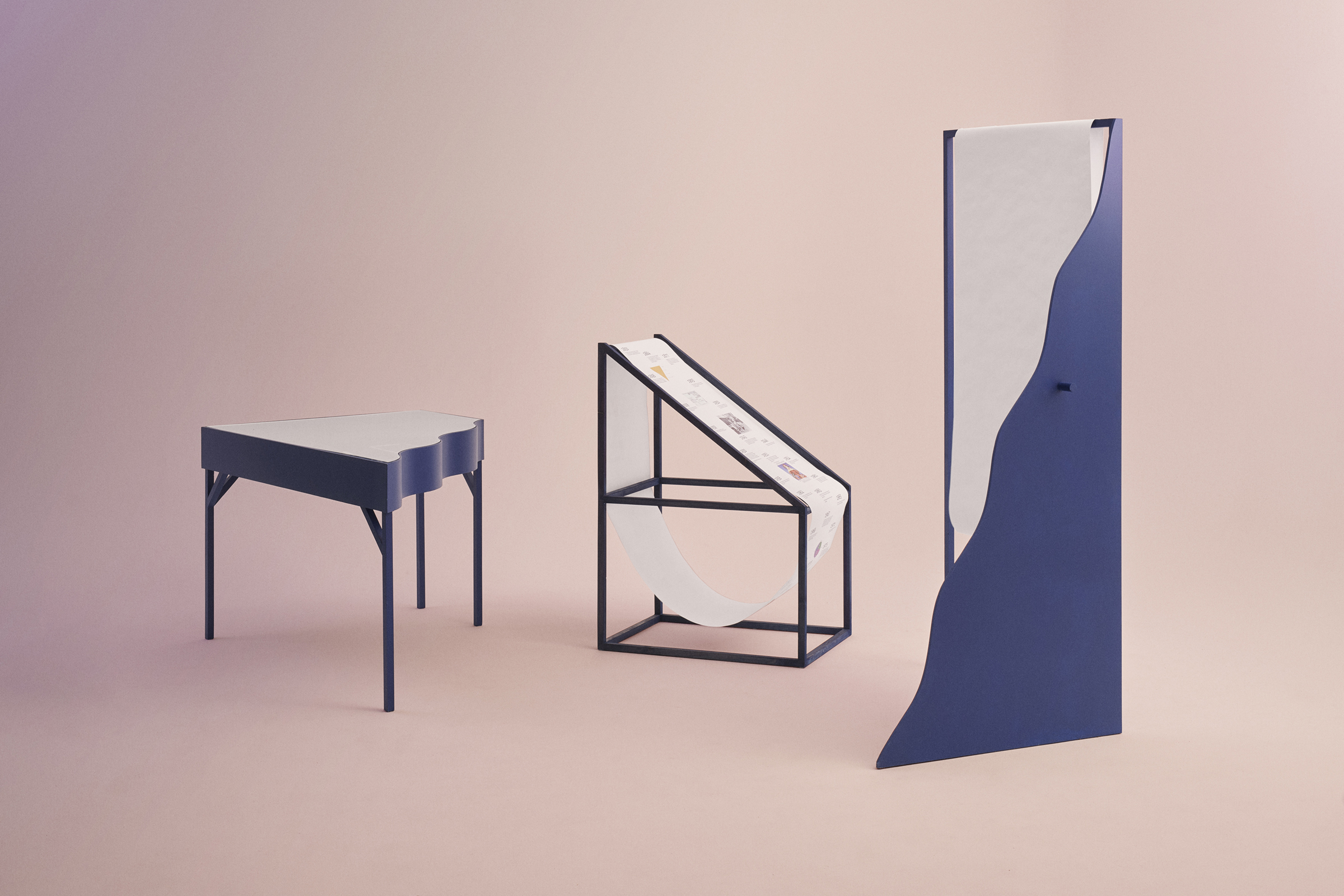Design displays for the Danish Museum of Post and Telecommunications, by Hvass Hannibal.