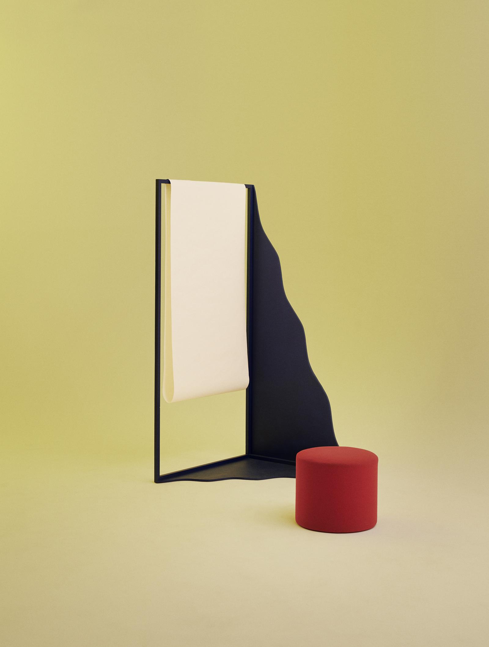 Présentoirs design pour le Musée danois de la Poste et de la Télécommunication, par Hvass Hannibal.