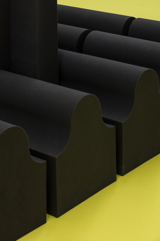 Set design at ar\ge Kunst by Parasite 2.0.