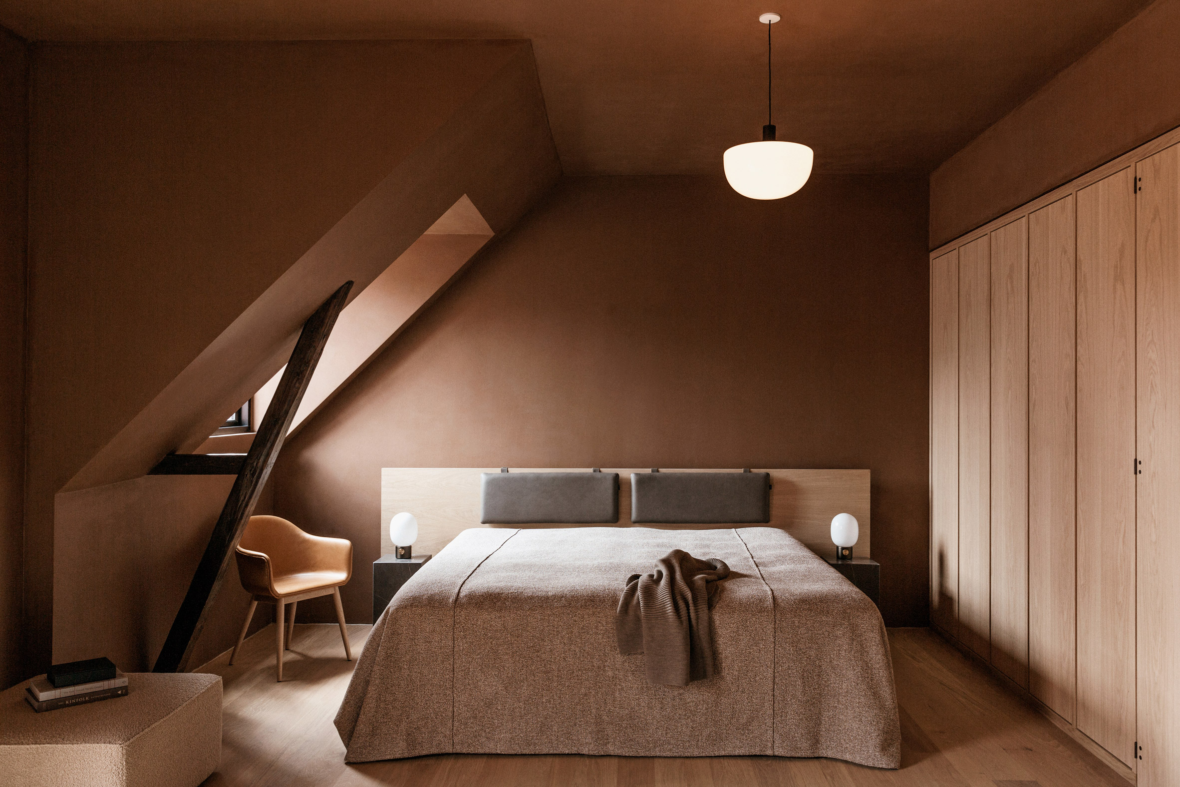 Design hotel in Copenhagen, Menu furniture, by Norm Architects.
