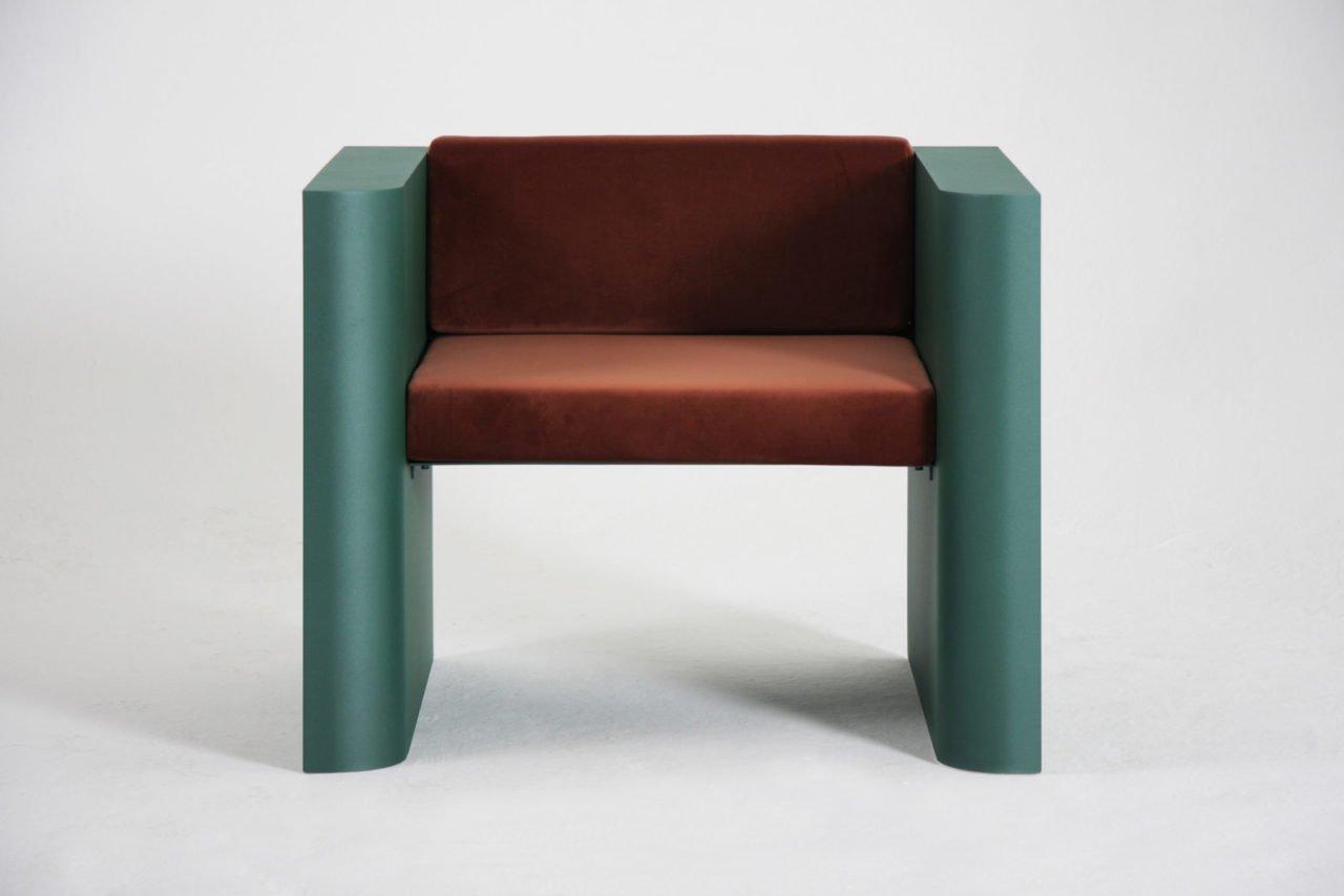 chair contemporary metal design, Supaform.